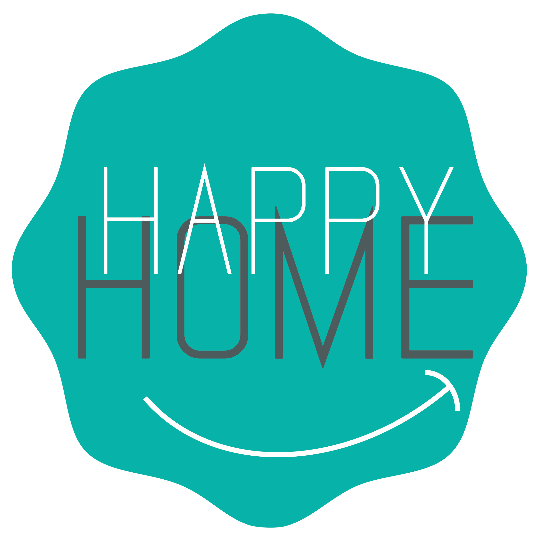 logo Happy Home Conciergerie